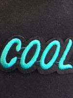patch cool blauw